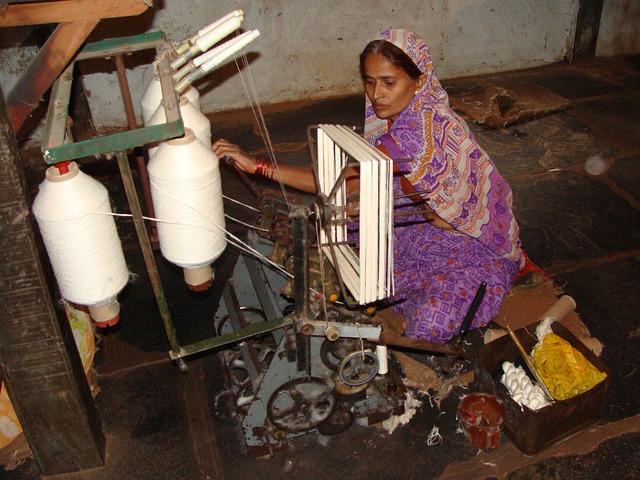 Arbeitsbedinungen Indien Textil