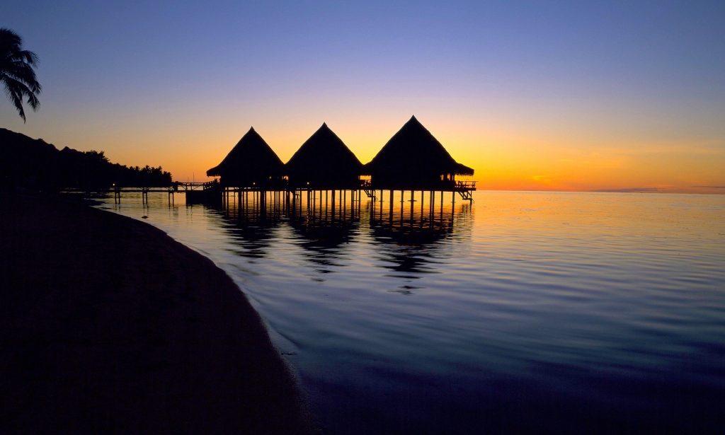 Tahiti Wasserbungalow
