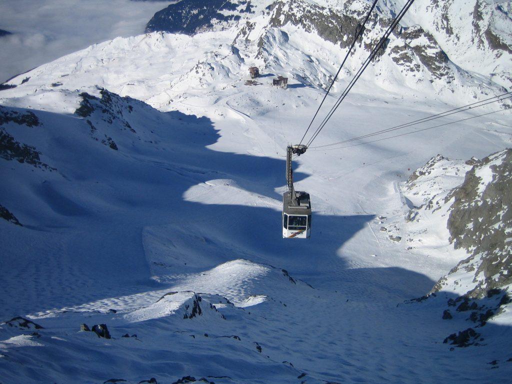 Verbier Skifahren